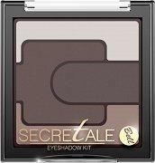 """Bell Secretale Eyeshadow Kit - Палитра с 4 цвята сенки за очи от серията """"Secretale"""" - червило"""