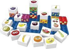 """Плодове - Детски образователен конструктор от био пластмаса : От серията """"Learning"""" -"""
