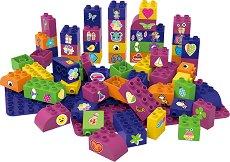 """Цветя и животни - Детски конструктор от био пластмаса : От серията """"Learning to Create"""" -"""