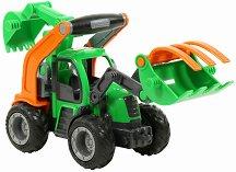 Трактор с две лопати - Grip - играчка