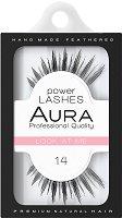 """Aura Power Lashes Look at Me 014 - Мигли от естествен косъм от серията """"Power Lashes"""" -"""