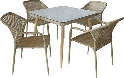 Комплект градински мебели - 362-390 - Имитация на ратан