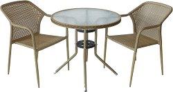 Комплект градински мебели - 362-4125В - Имитация на ратан