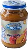 Ganchev - Пюре от праскови - Бурканче от 190 g за бебета над 4 месеца - пюре