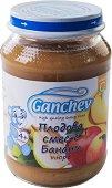 Ganchev - Пюре от плодова смес с банани - Бурканче от 190 g за бебета над 4 месеца - пюре