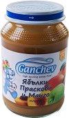 Ganchev - Пюре от ябълки, праскови и манго -