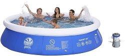 Надуваем басейн - Prompt - Комплект с филтърна помпа -
