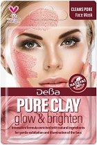 Почистваща маска за лице с глина - За нормална към мазна кожа - маска