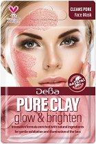Почистваща маска за лице с глина - За нормална към мазна кожа - душ гел