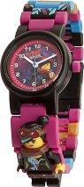 """Детски ръчен часовник - LEGO The Movie 2: Lucy - Комплект с фигурка от серията """"LEGO: Филмът"""""""