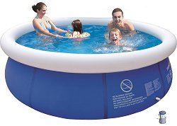 Надуваем басейн - Комплект с филтърна помпа -