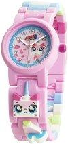 """Детски ръчен часовник - LEGO The Movie 2: Kitty - Комплект с фигурка от серията """"LEGO: Филмът"""""""