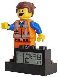 """Детски будилник - LEGO The Movie 2: Emmet - От серията """"LEGO: Филмът"""""""