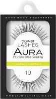"""Aura Power Lashes Cosmic Chick 019 - Мигли от естествен косъм от серията """"Power Lashes"""" -"""