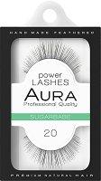"Aura Power Lashes Sugarbabe 020 - Мигли от естествен косъм от серията ""Power Lashes"" -"