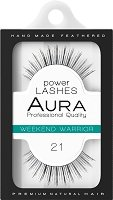 """Aura Power Lashes Weekend Warrior 021 - Мигли от естествен косъм от серията """"Power Lashes"""" - серум"""