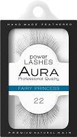 """Aura Power Lashes Fairy Princess 022 - Мигли от естествен косъм от серията """"Power Lashes"""" - продукт"""