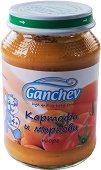 Ganchev - Пюре от картофи и моркови - Бурканче от 190 g за бебета над 4 месеца - пюре