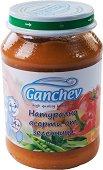 Ganchev - Пюре натурално асорти от зеленчуци - Бурканче от 190 g за бебета над 4 месеца -