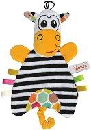 Веселата Зебра - Бебешка играчка за гушкане с дрънкалка -