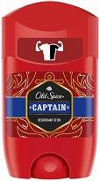 """Old Spice Captain Deodorant Stick - Стик деодорант за мъже от серията """"Captain"""" - душ гел"""