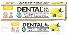 """Dental Bio Vital Natural White - Паста за зъби от серията """"Bio Vital"""" -"""