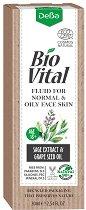 """Хидратиращ натурален флуид за лице - За нормална и мазна кожа от серията """"Bio Vital"""" - маска"""