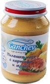 Ganchev - Пюре от пилешко месо с картофи и мляко - Бурканче от 190 g за бебета над 4 месеца - пюре