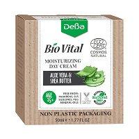 """Натурален овлажняващ дневен крем за лице 25+ - С екстракт от алое вера и масло от ший  от серията """"Bio Vital"""" -"""