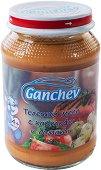 Ganchev - Пюре от телешко месо с картофи и домати - Бурканче от 190 g за бебета над 4 месеца - пюре