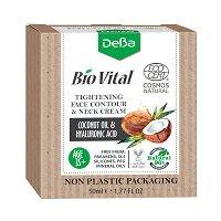 """Натурален стягащ крем за лице и шия 35+ - С кокосово масло и хиалуронова киселина от серията """"Bio Vital"""" -"""