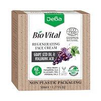"""Натурален регенериращ крем за лице 55+ - За зряла кожа от серията """"Bio Vital"""" - серум"""