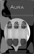 Комплект от 3 броя мини апликатори за сенки за очи - продукт