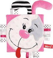 Кърпа за игра - Зайче - Бебешка играчка за гушкане -