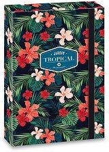 Кутия с ластик - Tropical Wildblume