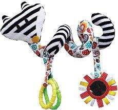 Лисичка - Мека играчка за бебешка количка и креватче -