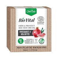 """Натурален дневен стягащ крем за лице 45+ - За суха кожа от серията """"Bio Vital"""" - серум"""