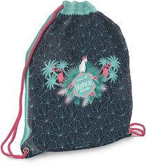 Спортна торба - Pink Flamingo -