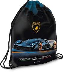 Спортна торба - Lamborghini - детски аксесоар