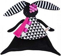Кърпа за игра - Зайче - Играчка за гушкане -
