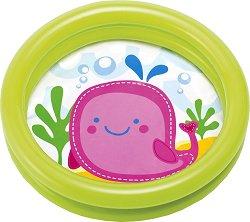 Надуваем бебешки басейн - Кит -