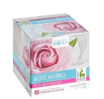Nature of Agiva Roses Goat's Milk Anti-Wrinkle Day Cream - мляко за тяло