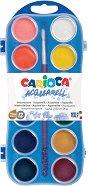 Акварелни бои - Комплект от 12 или 24 цвята с четка
