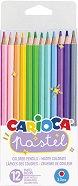 Цветни моливи - Pastel - Комплект от 12 цвята