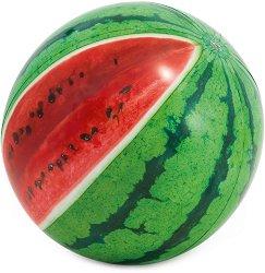 Надуваема топка - Диня - С диаметър ∅ 107 cm - детски аксесоар