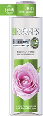 """Nature of Agiva Bio Rose Water - Био розова вода от серията """"Roses"""" - маска"""