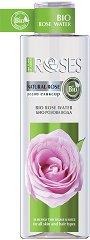 "Nature of Agiva Bio Rose Water - Био розова вода от серията ""Roses"" - шампоан"