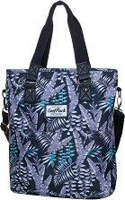 Чанта за рамо - Amber: Palms -
