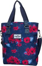 Чанта за рамо - Amber: Red Poppy -