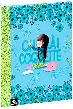Папка с ластик - Oh La La Coquette - Формат А4